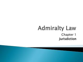 Admiralty Law