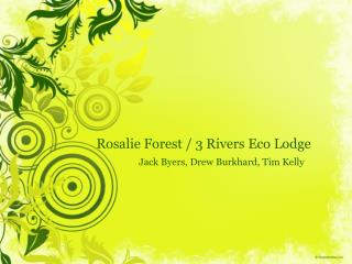 Rosalie Forest / 3 Rivers Eco Lodge