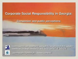 Centre for Strategic Research and Development of Georgia