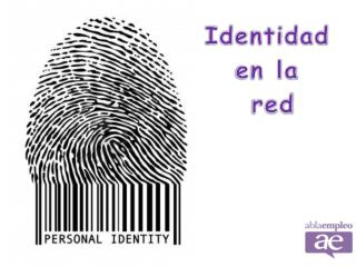 Identidad  en la  red