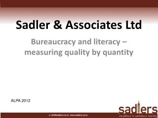 Sadler & Associates Ltd