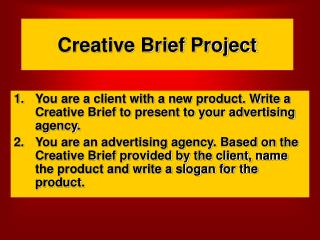 Creative Brief Project
