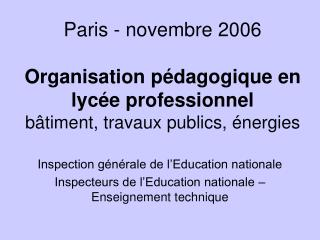 Inspection générale de l'Education nationale