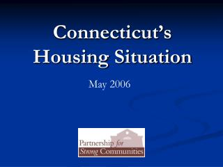 Connecticut's Housing Situation