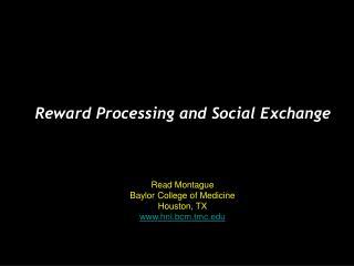 Read Montague Baylor College of Medicine  Houston, TX hnl.bcm.tmc