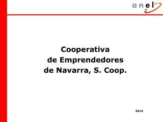 Cooperativa  de Emprendedores  de Navarra, S. Coop.