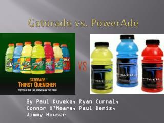 Gatorade vs. PowerAde