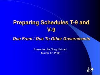 Presented by Greg Nainani  March 17, 2005