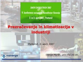 Prezračevanje in klimatizacija v industriji