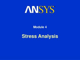 Stress Analysis