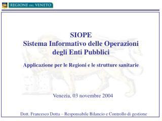 Venezia, 03 novembre 2004