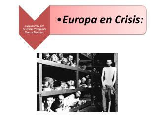 Consecuencias de la  Postguerra
