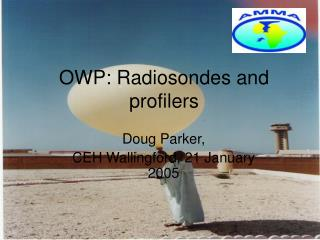 OWP: Radiosondes and profilers