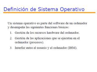 CLASIFICACI�N DE LOS SISTEMAS OPERATIVOS