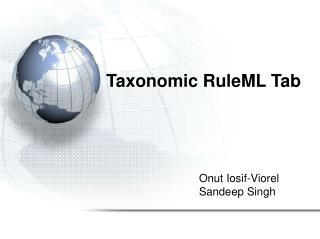 Taxonomic RuleML Tab