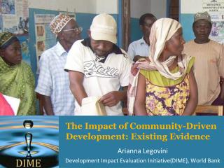 The Impact of Community-Driven Development: Existing Evidence