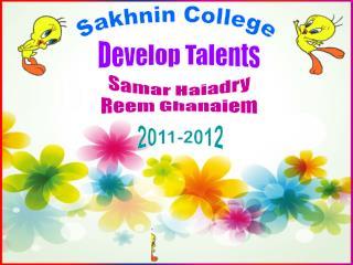 Develop Talents