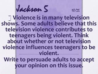 Jackson 5 10/25
