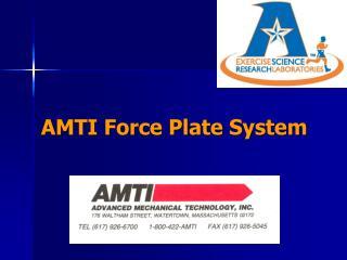 AMTI Force Plate System
