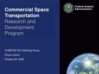 Commercial Space Transportation Research and Development  Program