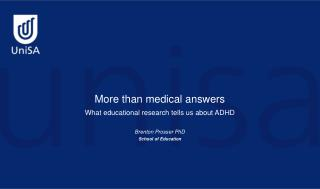 More than medical answers