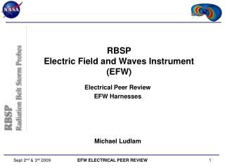 RBSP Electric Field and Waves Instrument (EFW)