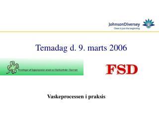 Temadag d. 9. marts 2006