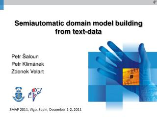 Semiautomatic domain model building from text-data