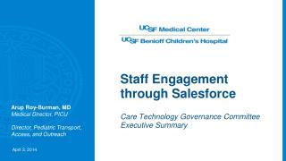 Staff Engagement through Salesforce