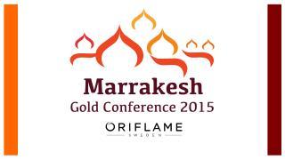 Oriflame G u ld konferens  2015