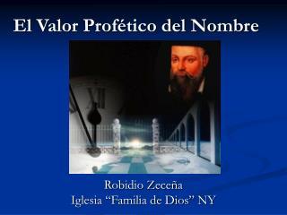 El Valor Profético del Nombre