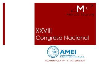 XXVIII Congreso Nacional