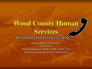 Wood County Human Services
