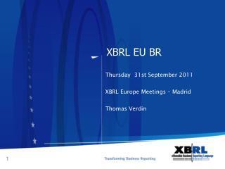 XBRL EU BR