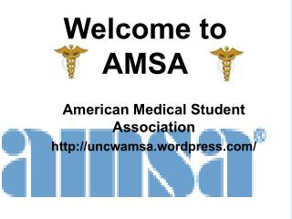Welcome to AMSA