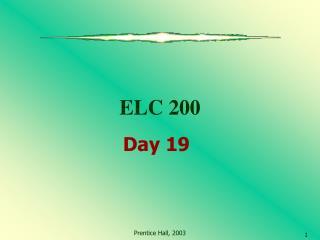 ELC 200