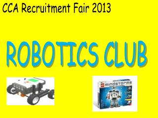 CCA Recruitment Fair 2013
