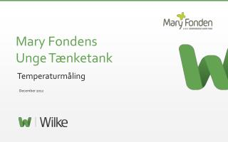 Mary Fondens  Unge T�nketank