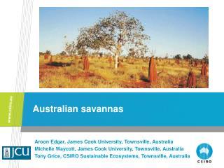 Australian savannas