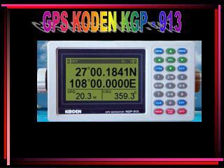 GPS KODEN KGP - 913
