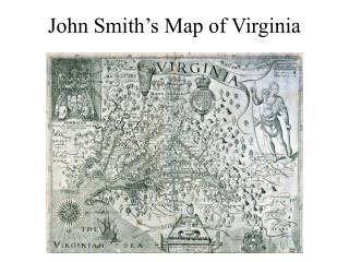 John Smith�s Map of Virginia