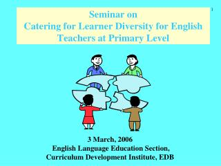 Seminar on  Catering for Learner Diversity for English Teachers at Primary Level