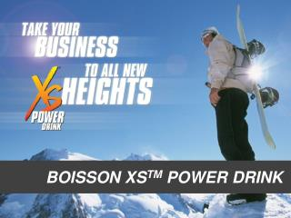 BOISSON XS TM  POWER DRINK