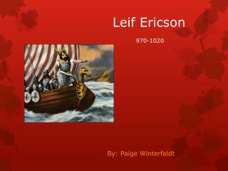 Leif Ericson