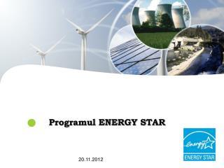 Programul ENERGY STAR
