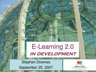 E-Learning 2.0 in development