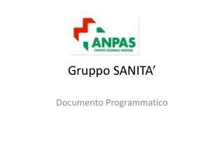 Gruppo SANITA'