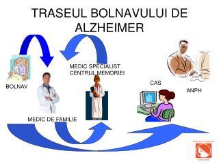 TRASEUL BOLNAVULUI DE ALZHEIMER