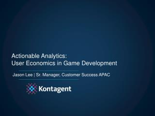 Jason Lee | Sr. Manager, Customer Success APAC