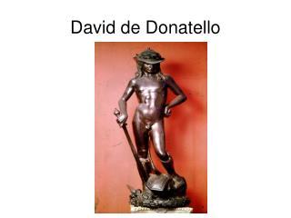 David de Donatello